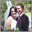 Celebrants wedding picute of Brent & Cassie