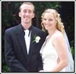 Happy couple after celebrant service