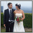 Bride and Groom after wedding