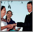 Wedding picture for marriage celebrant at Redcliffe