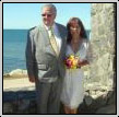 Beach Wedding picture by celebrant nicole